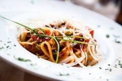 Italian Pasta - Fettuccine Stock Photos