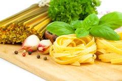 Italian pasta fettuccine nest Royalty Free Stock Photography