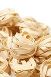 Italian pasta fettuccini Royalty Free Stock Photography
