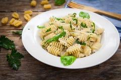 Italian pasta food Royalty Free Stock Photo