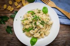 Italian pasta food Stock Photos