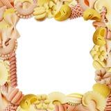 Italian pasta frame Royalty Free Stock Image