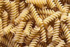 Italian pasta - fusilli Stock Photography