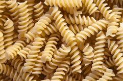 Italian pasta - fusilli stock photography