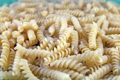 Italian pasta girandole Royalty Free Stock Photography