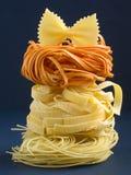 The Italian Pasta I. Assorted italian pasta Stock Photography