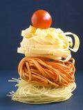 The Italian Pasta II. Assorted italian pasta Stock Photos