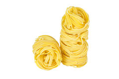 Italian pasta isolated on white Stock Images