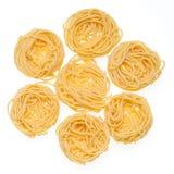 Italian Pasta isolated on white. Stock Images