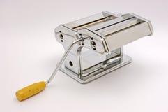 Italian pasta machine at white background Royalty Free Stock Image
