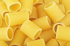 Italian pasta mezze maniche Stock Photo