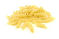 Italian pasta - mezze penne Royalty Free Stock Images