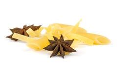 Italian pasta mix with spices Stock Photos