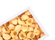 Italian pasta in packaging. Royalty Free Stock Image