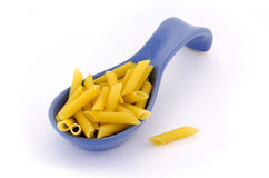 Italian pasta on a pile Stock Photo