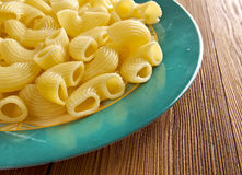 Italian pasta pipe rigate Royalty Free Stock Photography