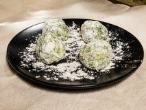 Italian pasta ravioli or gnudi stock photos