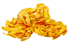 Italian pasta ready to be cooked. Royalty Free Stock Image
