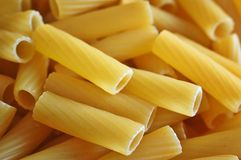 Italian pasta rigatoni Stock Photography
