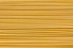 Italian Pasta with  row Horizontally Royalty Free Stock Photos