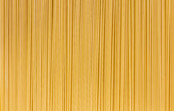 Italian Pasta with  row Vertical Royalty Free Stock Photography