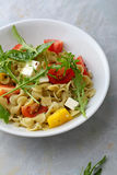Italian Pasta salad in bowl Royalty Free Stock Images