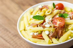 Italian Pasta Salad Bowl Royalty Free Stock Photo