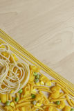 Italian Pasta Shapes Stock Photos