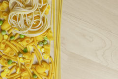 Italian Pasta Shapes Royalty Free Stock Image