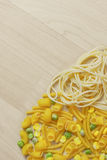 Italian Pasta Shapes Stock Images