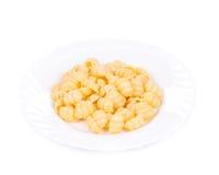 Italian pasta shells Royalty Free Stock Photography