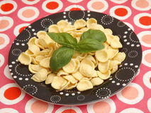 Italian pasta. Some italian pasta called orichetti Stock Images