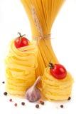 Italian pasta and spaghetti Royalty Free Stock Photos