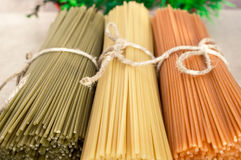 Italian pasta spaghetti Royalty Free Stock Photo