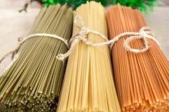 Italian pasta spaghetti Royalty Free Stock Photo