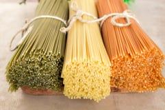 Italian pasta spaghetti Stock Images