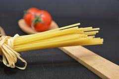 Italian pasta spaghetti. Italian food tomato Royalty Free Stock Photos