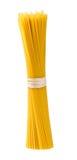 Italian Pasta spaghetti macaroni isolated on white background Stock Photos