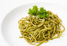 Italian pasta spaghetti Royalty Free Stock Images