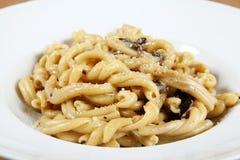 Italian Pasta Strozzapreti Royalty Free Stock Photos