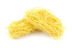 Italian pasta - tagliolini Stock Image