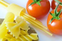 Italian Pasta Tomato Stock Image