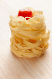 Italian pasta and tomato Royalty Free Stock Images