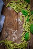 Italian pasta tortellini Stock Images