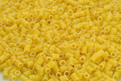 Italian pasta: Tubettoni Stock Photos