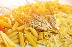 Italian pasta uncooked Stock Photos