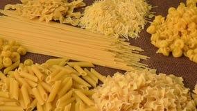 Italian pasta stock footage