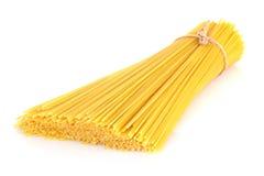 Italian pasta on white Stock Image