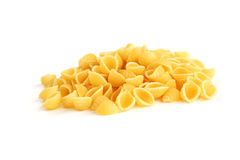 Pasta on white Royalty Free Stock Images