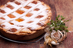 Italian Pastiera For Easter Royalty Free Stock Image